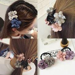 L for Love - Flower Hair Clip / Hair Tie / Hair Claw