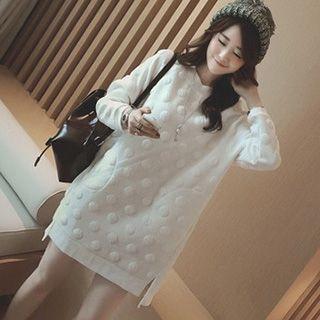 Ashlee - 孕婦圓點套衫裙