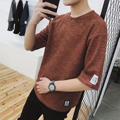 Besto - 中袖寬鬆T恤