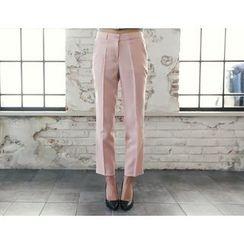 DANI LOVE - Pocket-Side Tapered Dress Pants