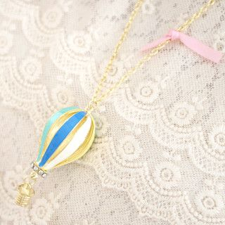 59 Seconds - Balloon Necklace with Ribbon