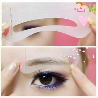 Homy Bazaar - Eyebrow Stencils