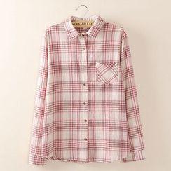 Tangi - 长袖格子衬衫