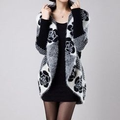 Birdwatch - Patterned Long Cardigan