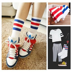 Little Flower - Striped Socks