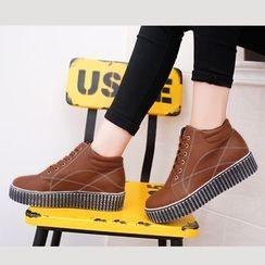 BARCA - Platform High Top Sneakers