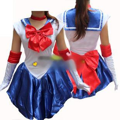 Cosgirl - Sailor Moon Sailor Soldier Cosplay Costume