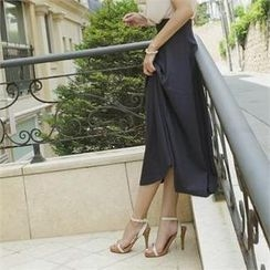 ode' - High-Waist Maxi Skirt