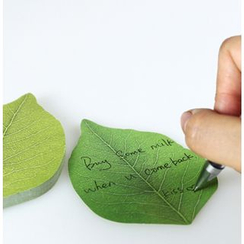 Cute Essentials - Leaf Sticky Notes