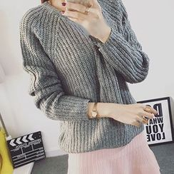 Polaris - 罗纹毛衣