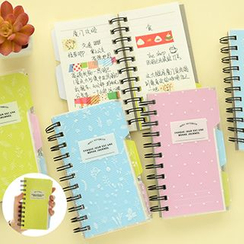 Show Home - Floral Print Mini Notebook