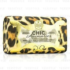 Nesti Dante - Chic Animalier Natural Soap - Myrrh, Ginger Tea and Patchouli