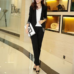 Romantica - Set: Cuffed Blazer + Pants