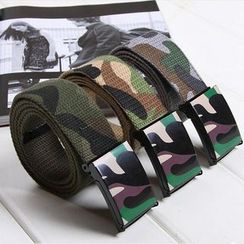 Sumabold - Camouflage Canvas Belt