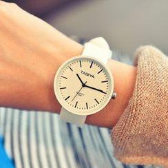 Crocosmia - Silicon Strap Watch