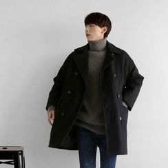 Seoul Homme - Double-Breasted Coat