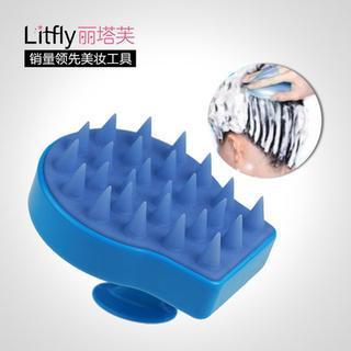 Litfly - Hair Massage Brush (Blue)