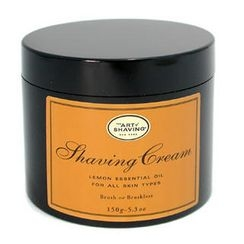The Art Of Shaving - Shaving Cream - Lemon Essential Oil (For All Skin Types)