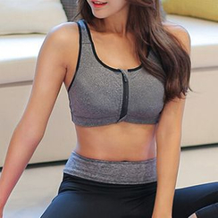 FAYE - Zip Up Front Sports Bra
