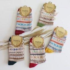 Gemini - Patterned Socks