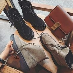 Hipsole - Lace-Up Short Boots