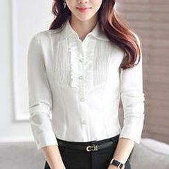 Caroe - 细褶连衣裙衬衫
