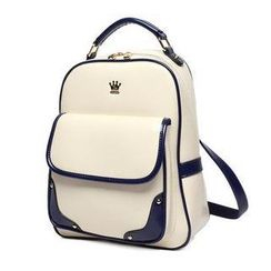 Princess Carousel - Patent Flap Backpack