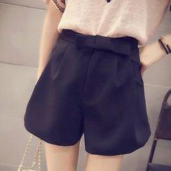 MayFair - Bow A-Line Shorts