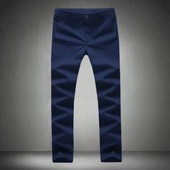 Alvicio - Plain Capri Pants