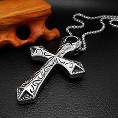 Andante - Cross Pendant Necklace