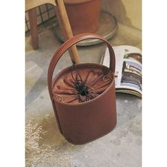 GOROKE - Drawstring Cylinder Bucket Bag