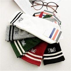 Storyland - Contrast-Stripe Socks
