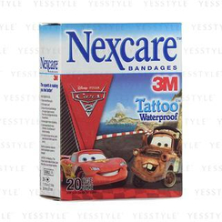 3M - Nexcare Bandages Tattoo Waterproof (Cars)