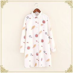 Fairyland - Printed Long Shirt