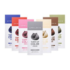 APRIL SKIN - Turn Up Color Cream (7 Colors): Hairdye 60g + Oxidizing Agent 60g + Treatment 10ml