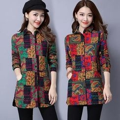 Diosa - Patterned Padded Jacket