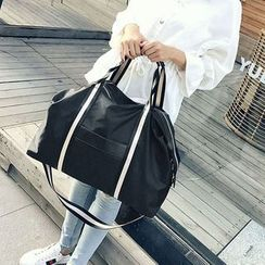 Denyard - Oxford Contrast Strap Carryall Bag