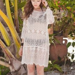 Sunglow - Lace Cover Up