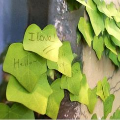 Paper Plane - Leaf Memo Pad