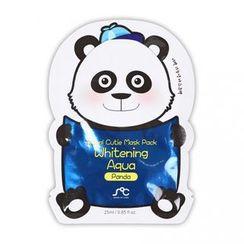 Rainbow Beauty - SOC Animal Cuite Mask Pack Whitening Aqua (Panda) 1pc