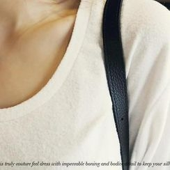 NANING9 - Elbow-Sleeve T-Shirt