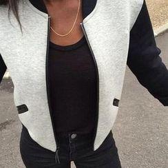 Rebecca - Panel Zip Jacket