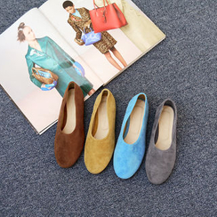 NANING9 - Faux-Suede Flats