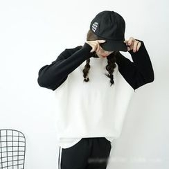 Polaris - Raglan Colour Block Sweater