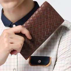 MR.BLUE - Woven Long Wallet