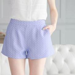 Tokyo Fashion - Jacquard Shorts