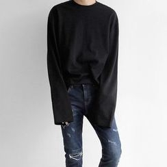 Seoul Homme - Round-Neck T-Shirt