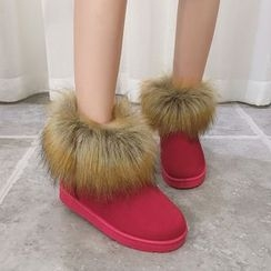 Yoflap - Furry Snow Boots
