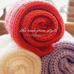 REDOPIN - Rib-Knit Scarf