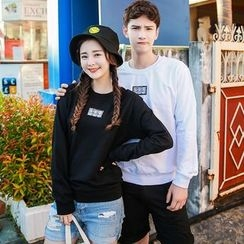 Evolu Fashion - Couple Matching Applique Pullover